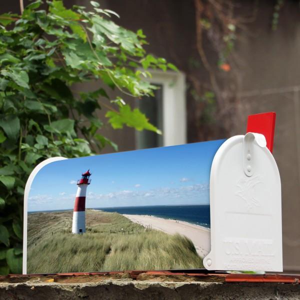 us mailbox wei leuchtturm briefkasten banjado. Black Bedroom Furniture Sets. Home Design Ideas
