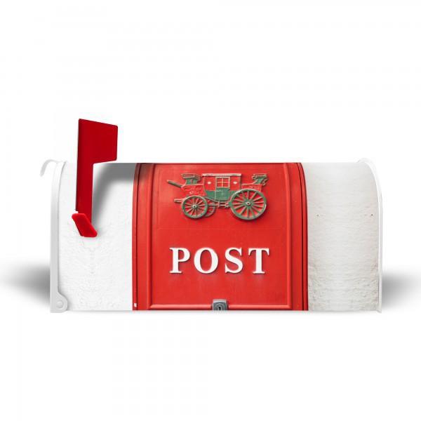 amerikanischer briefkasten wei postkasten nostalgie banjado. Black Bedroom Furniture Sets. Home Design Ideas